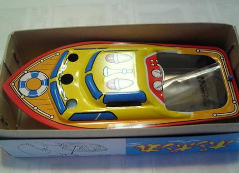 ブリキ ポンポン丸(ポンポン船)